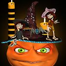 Halloween Madness by LoneAngel