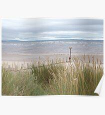 Beach - Findhorn, Moray, Scotland Poster