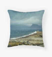 Loch Scavaig from Elgol Throw Pillow