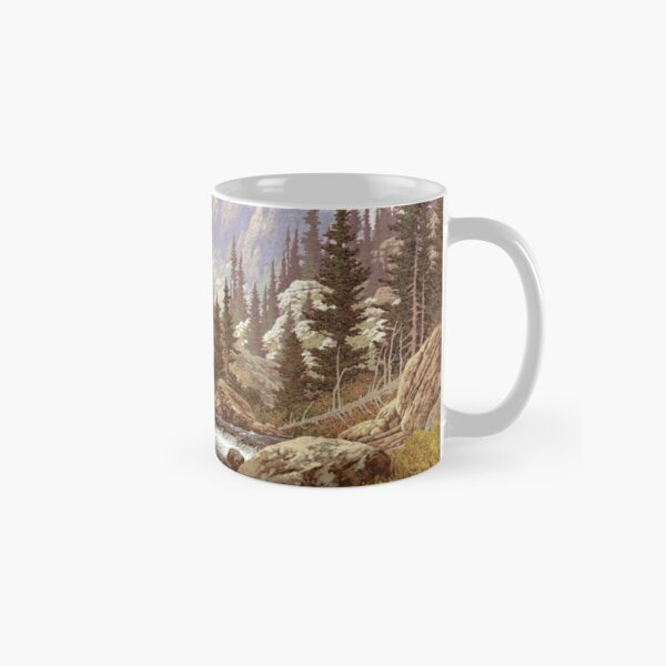 Grizzly Bear Landscape Classic Mug