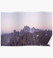 Beautiful Mountain Photograph Poster