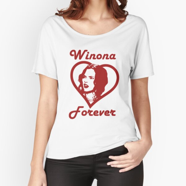 Winona Ryder - Winona Forever Relaxed Fit T-Shirt