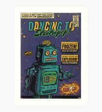 I Bet You Look Good On The Dancefloor - Arctic Monkeys Art Print