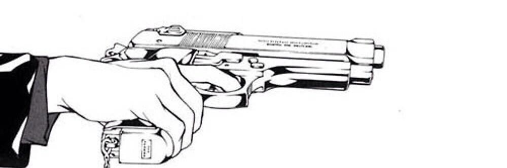 Hand Gun by Joseph Walsh