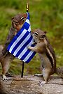 Boy Chip Joins Chippy In Greece To End Animal Abuse by Betsy  Seeton