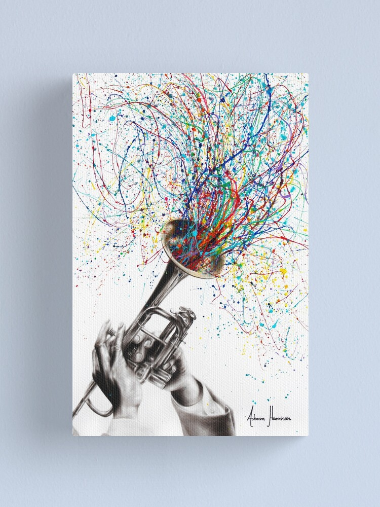 Alternate view of Soul of Sound Canvas Print
