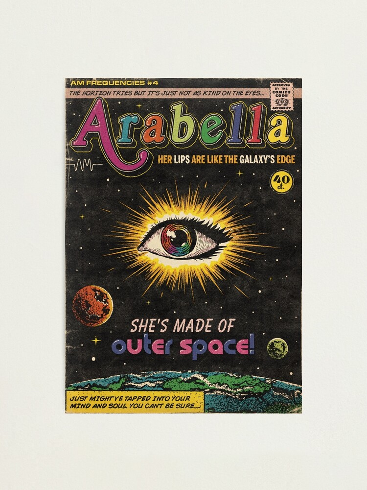 Alternate view of Arabella - Arctic Monkeys Photographic Print