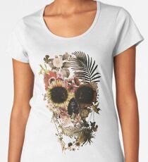 Garden Skull Light Premium Scoop T-Shirt