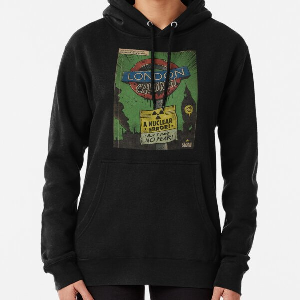 London Calling - The Clash Pullover Hoodie