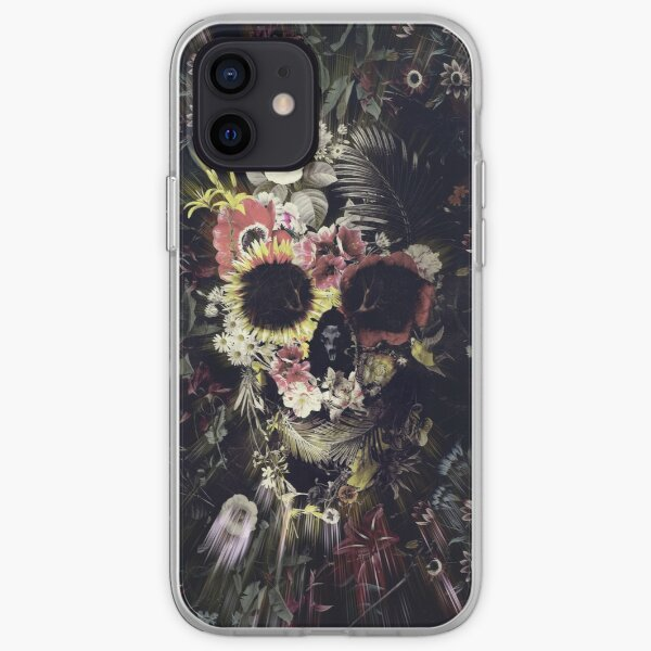 Garden Skull iPhone Soft Case