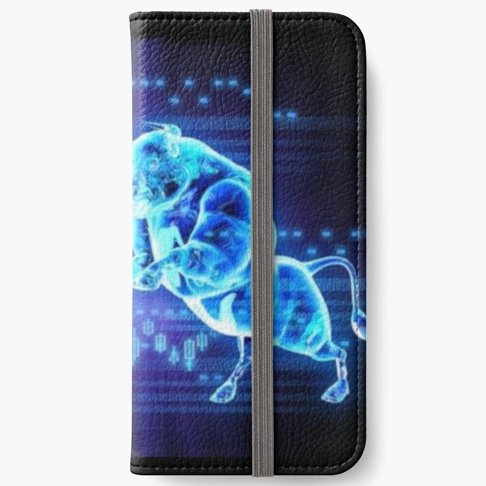 Toro e oso Fundas tarjetero para iPhone