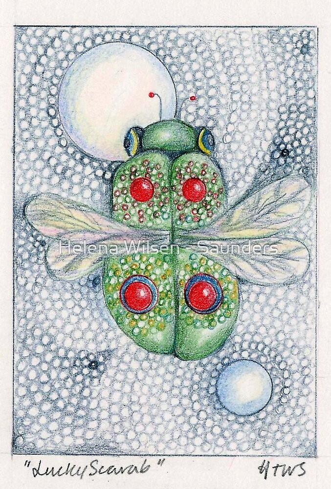 Lucky Scarab by Helena Wilsen - Saunders