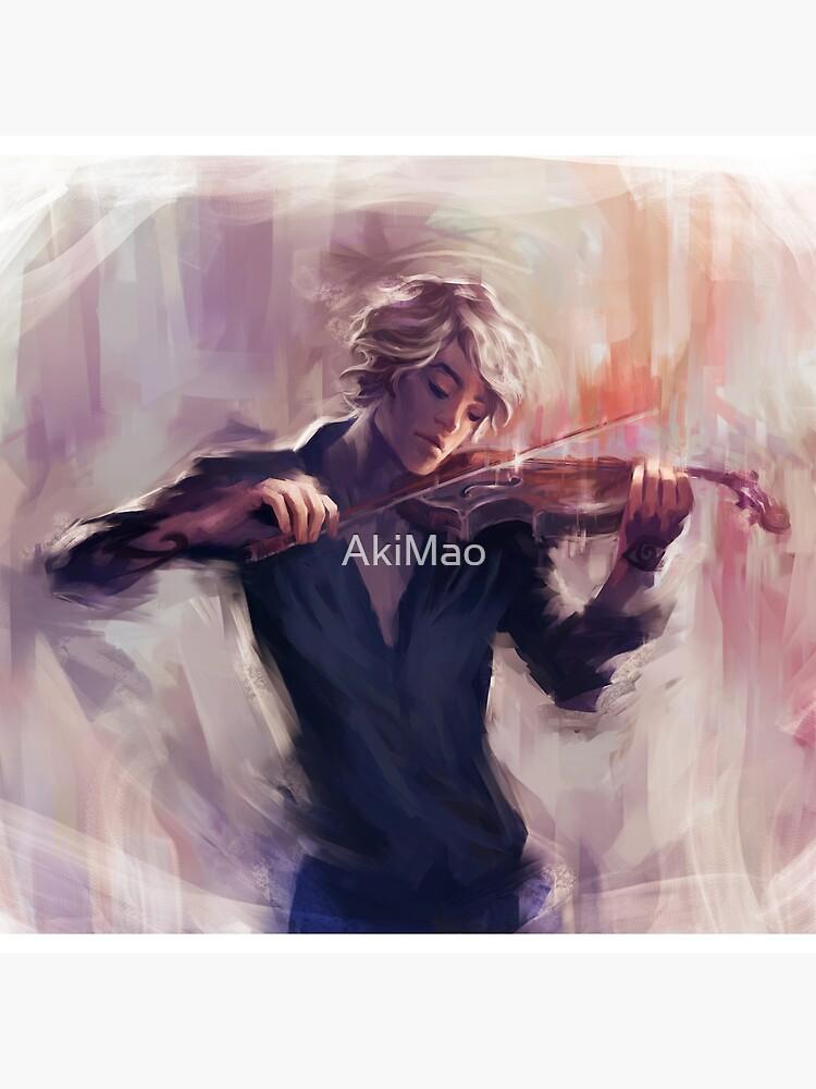 Violin and James Carstairs by AkiMao