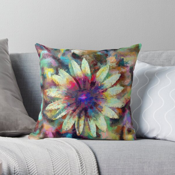 Decorative products.Digital paintings. Throw Pillow