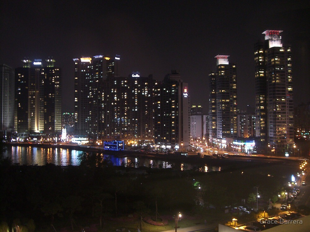 Busan in the Evening by Grace Barrera