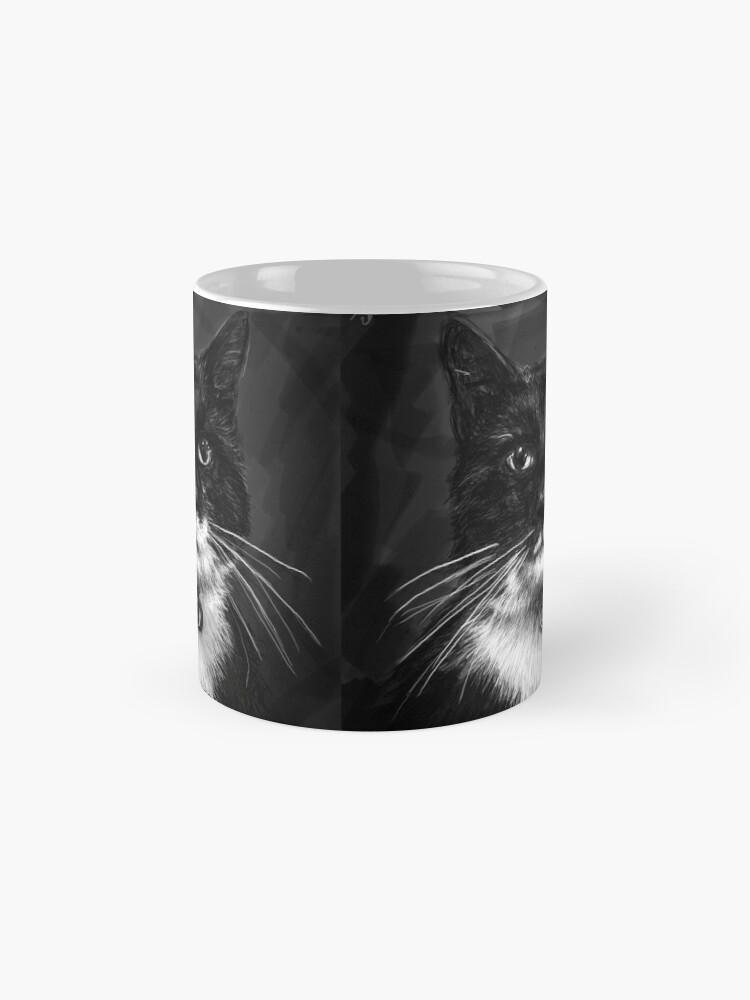 Alternate view of Roofcat Mug