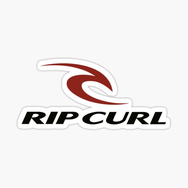 RipCurl C surfing Sticker
