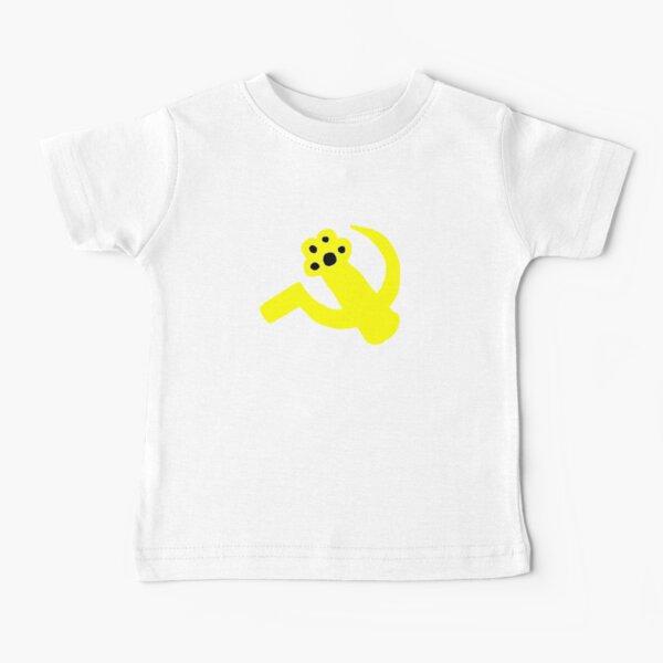 Paw & Sickle - Soviet Flag Cat Paw Baby T-Shirt