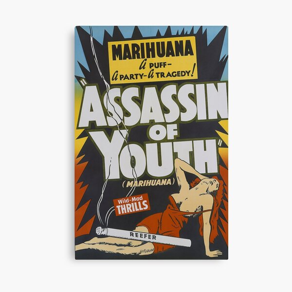 Assassin Of Youth Canvas Print