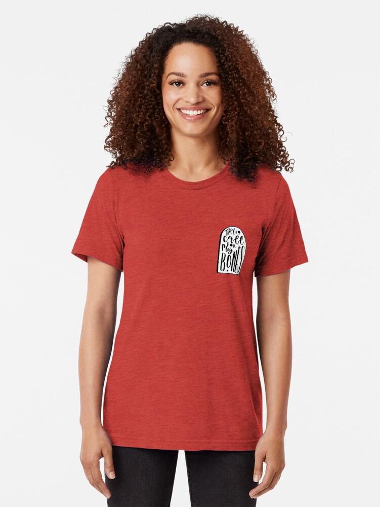 Alternative Ansicht von Neon Grabsteine Vintage T-Shirt