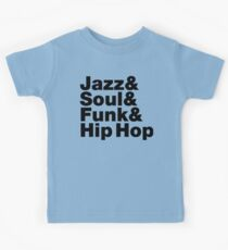 Jazz & Soul & Funk & Hip Hop Kids Tee