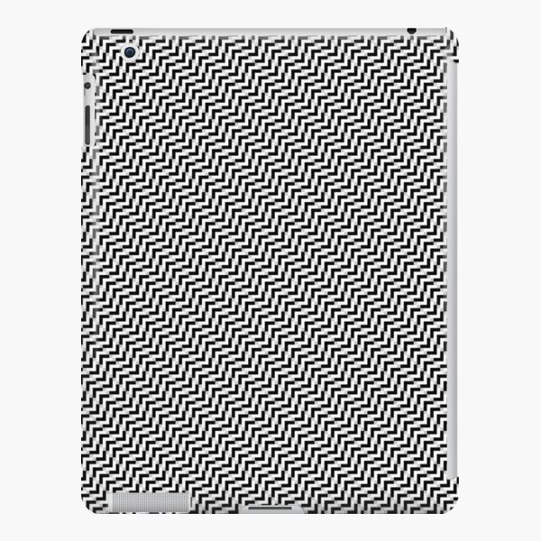 Op art - art movement, short for optical art, is a style of visual art that uses optical illusions iPad Snap Case