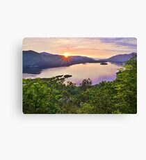 surprise view, borrowdale Canvas Print
