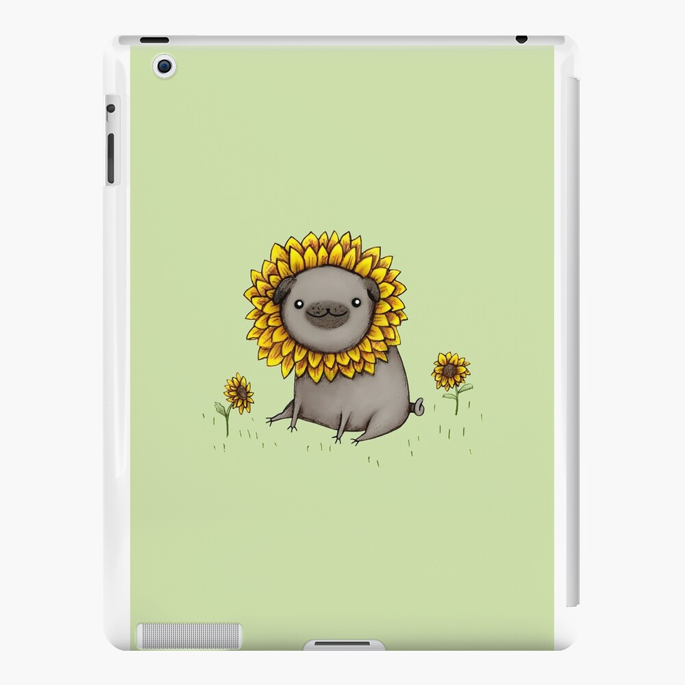 Pugflower iPad Cases & Skins