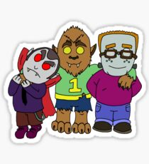 And you thought your kids were little monsters. Sticker