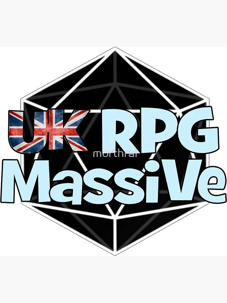 UK RPG Massive logo v2.0 by morthrai