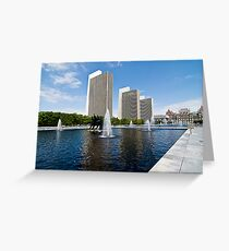 The Capital Plaza Greeting Card