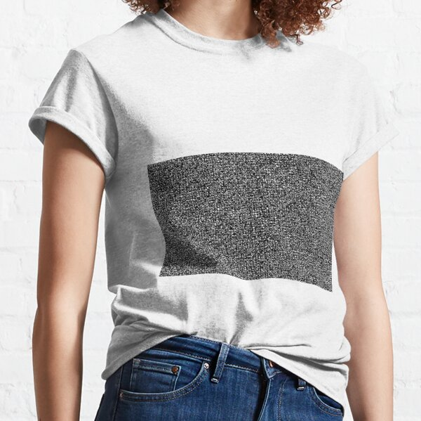 #Op #art - art movement, short for optical art, is a style of visual art that uses optical illusions #OpArt #OpticalArt Classic T-Shirt
