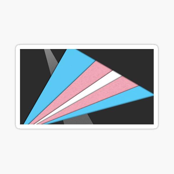 Material Pride - Trans Sticker