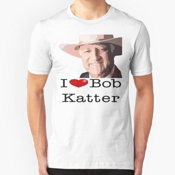 I heart Bob Katter Slim Fit T-Shirt
