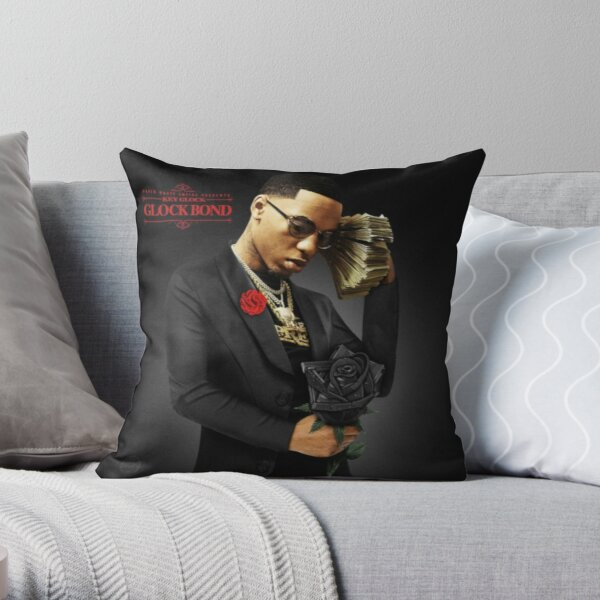 Key Glock Glock Bond Throw Pillow
