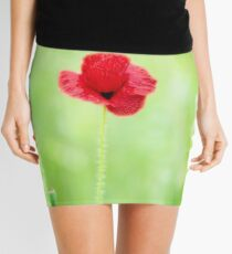 Poppy (Poppies) in Field Mini Skirt