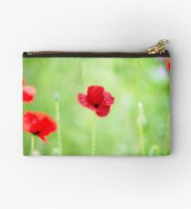 Poppy (Poppies) in Field Zipper Pouch
