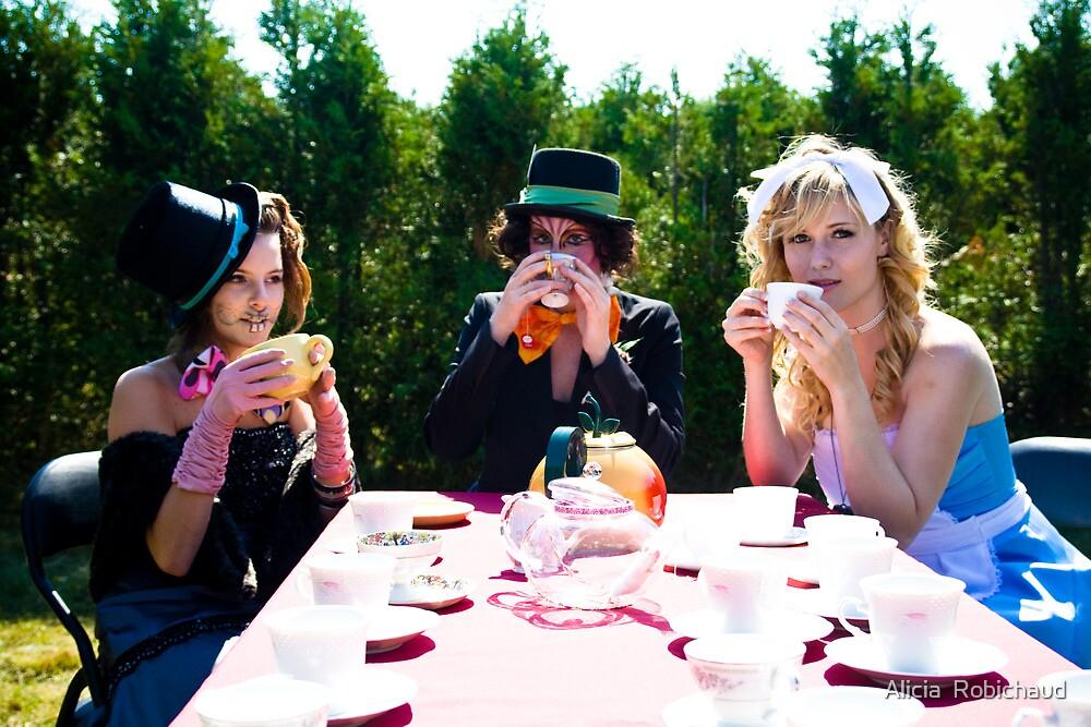 Tea Party by Alicia  Robichaud