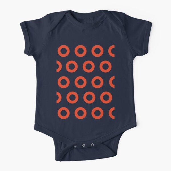 Jon Fishman - Phish Drummer Small Red Circle Print Short Sleeve Baby One-Piece