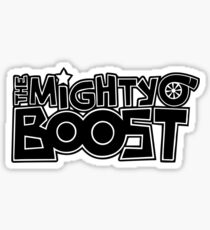 The Mighty Boost Sticker