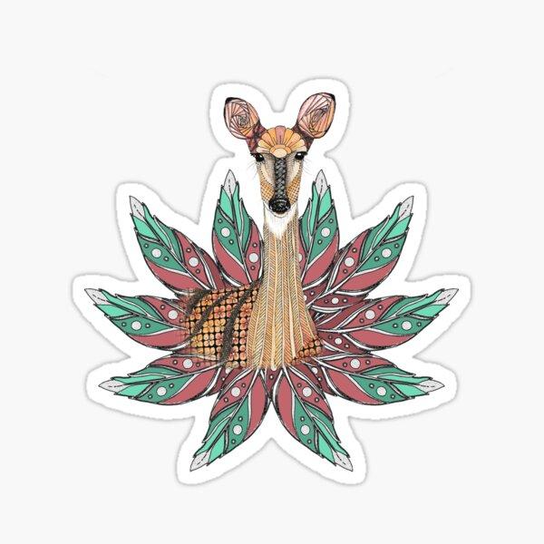 Deer Totem Sticker
