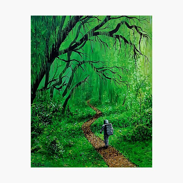 Natures Path Photographic Print