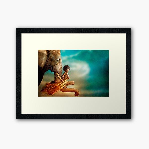 In You I Trust Framed Art Print