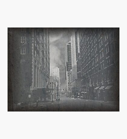 Cityscapes - The way things were.. and are..  Photographic Print