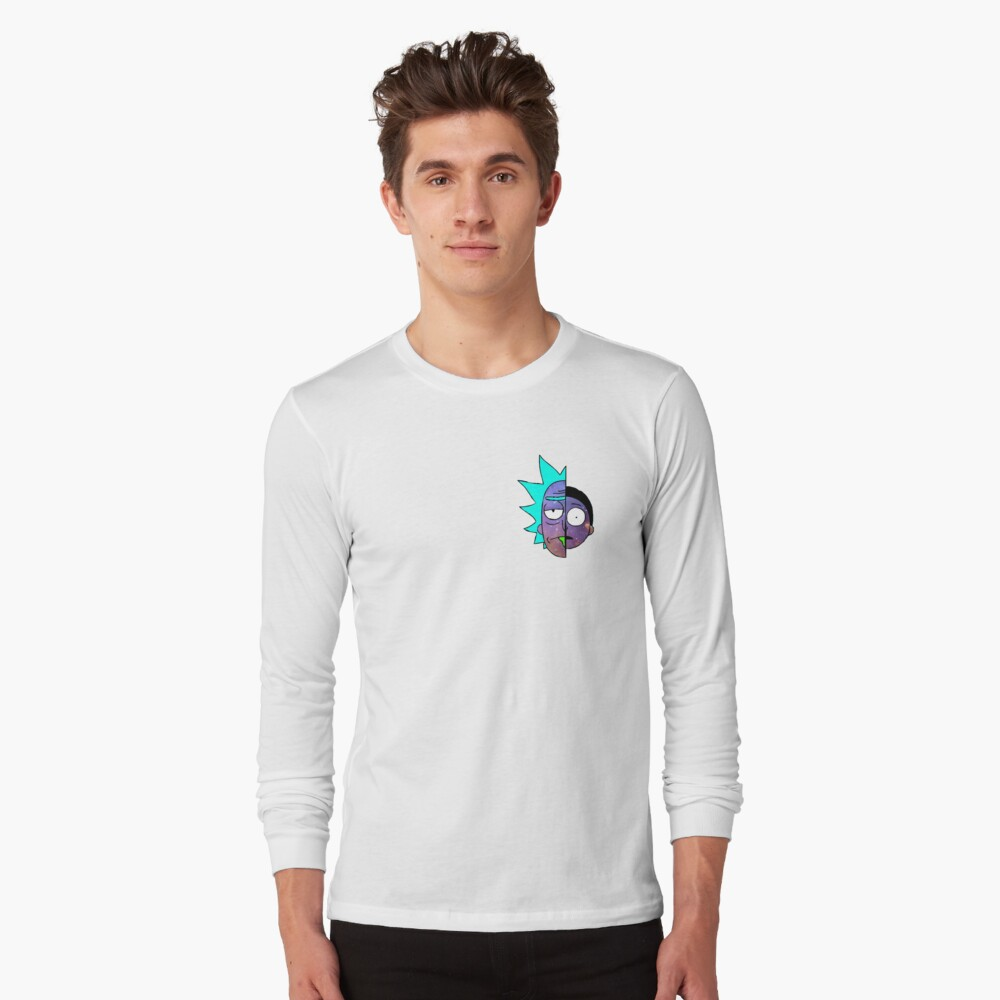 Galactic Rick and Morty Long Sleeve T-Shirt