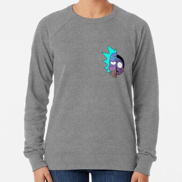 Galactic Rick et Morty Sweatshirt léger