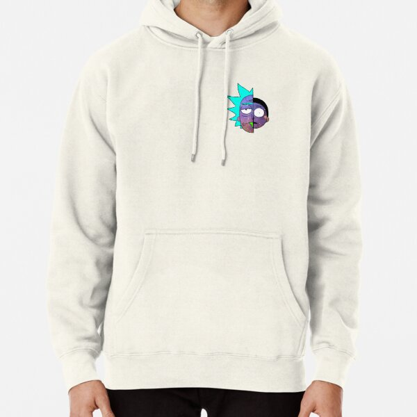Galactic Rick and Morty Pullover Hoodie