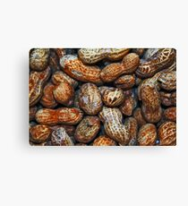 Peanuts - Get your peanuts here Canvas Print
