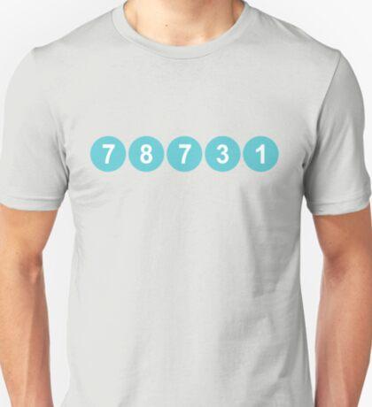 78731 ZIP Code Austin, Texas T-Shirt