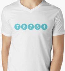 78731 ZIP Code Austin, Texas V-Neck T-Shirt